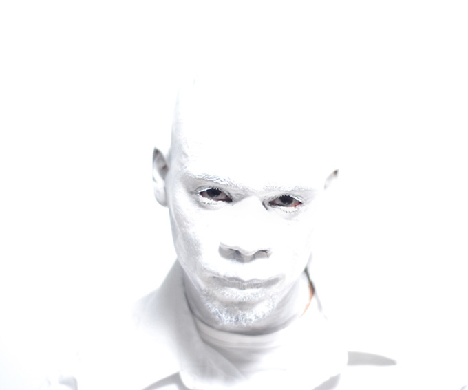 Jefferson Pinder  Afro-Cosmonaut/Alien (White Noise)   2007 HD Video 5:13 minutes Edition of 5   excerpt »