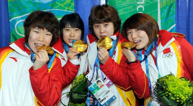 Chinese Short track Olympic Champions