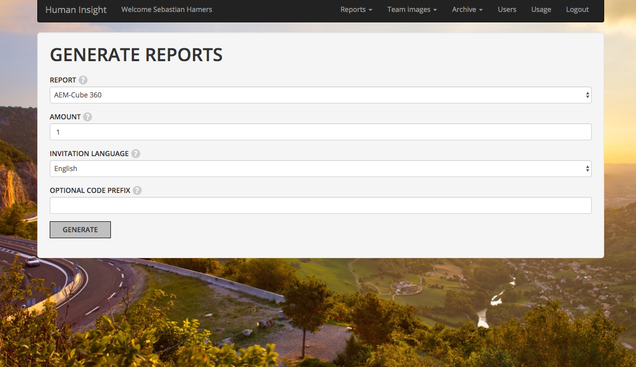 Generating reports and team images on the spot has never been this easy.