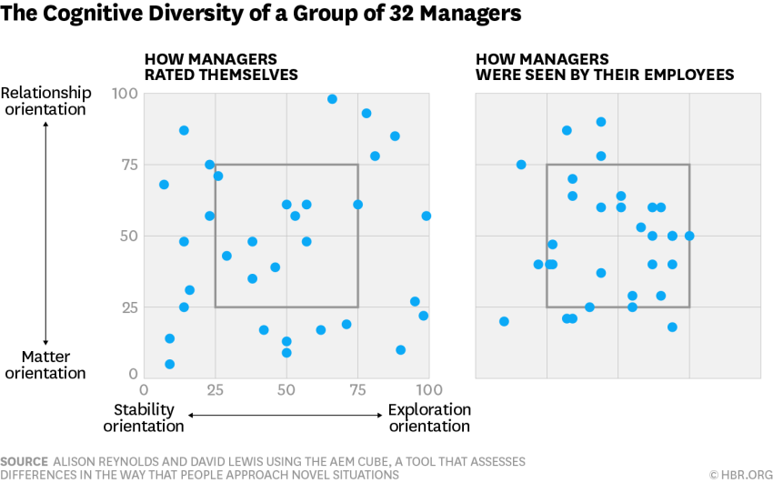 Cognitive Diversity of a group managers