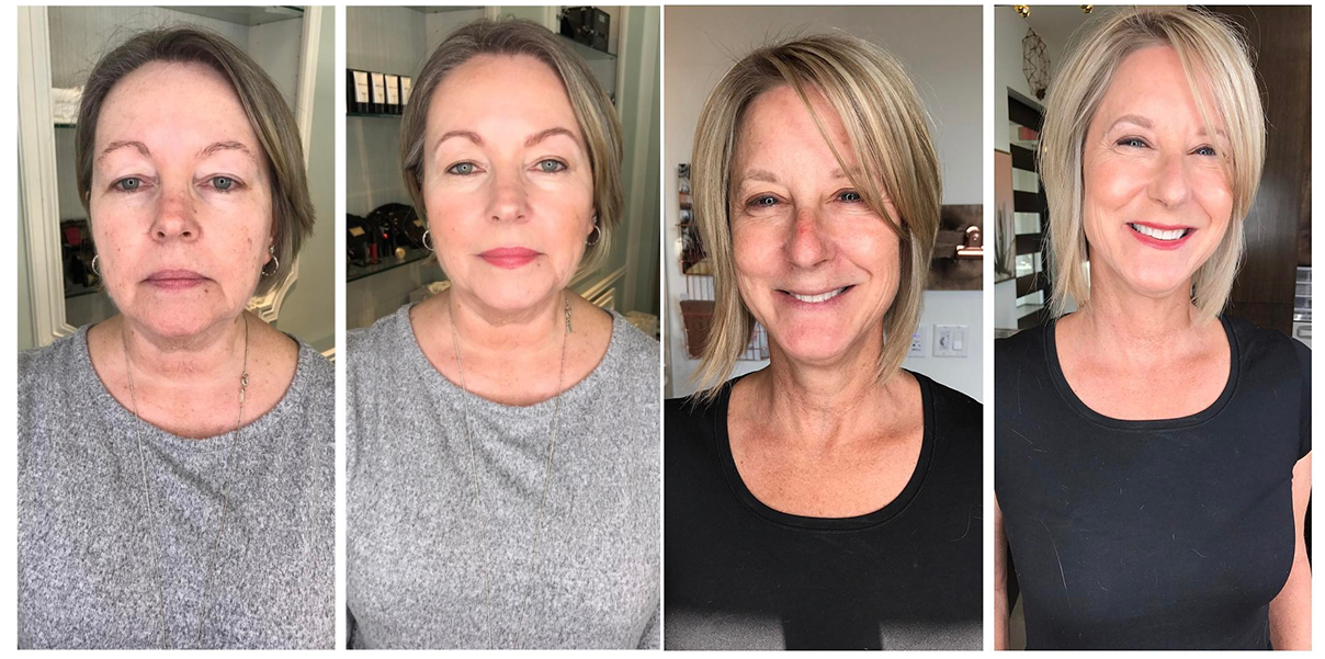 natural style makeup in the woodlands