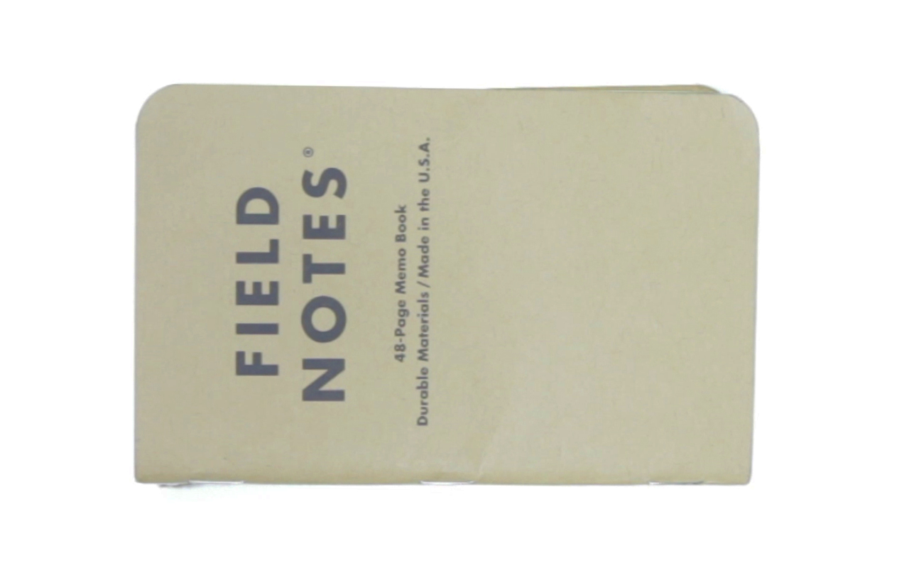 Field Notes are great for sketching out ideas on the go, or creating to-do lists!