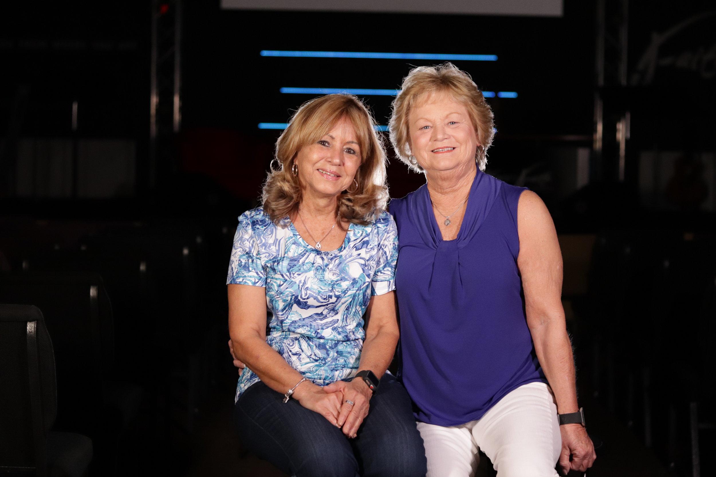 Sandy Nied & Betsy Cintron -