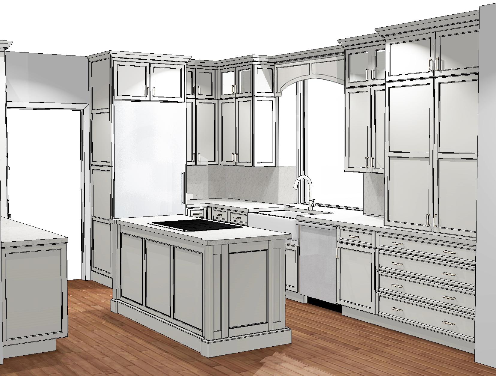 Kendall Drive Kitchen