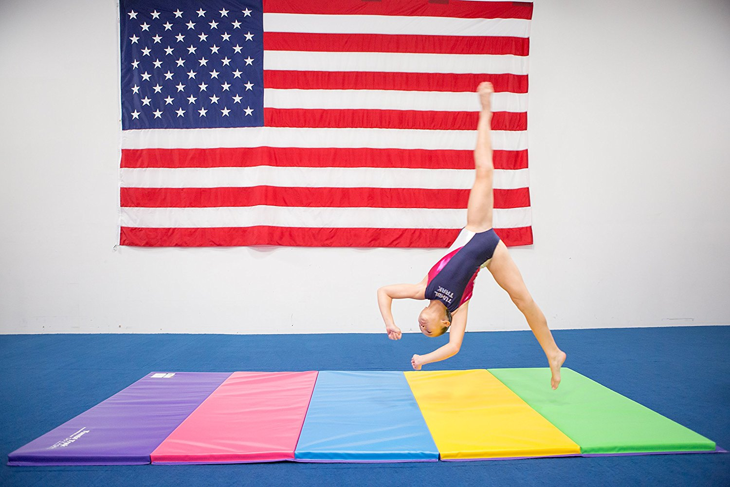 Who's it for: dancers of any age who love to tumble!  These acro mats  ($189) may be a little pricey, but the quality is worth it. The foam inside the mat is much more dense than many cheaper options, making it safer for dancers to land tricks on. There are several size and color options to find the right fit for you, too. This is something you can pass down for years and years!