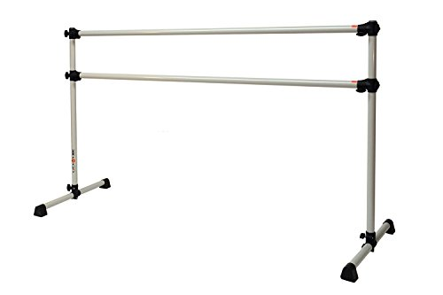 Who's it for:  ballet dancers ages 8+  This adjustable ballet barre  ($88) is lightweight, portable, and easy to put together and take down. It's great for home practice, without totally breaking the bank!