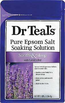 Who's it for: dancers who need a spa night  This lavender epsom salt soak  ($16.90 for a 2 pack) is perfect for a relaxing spa night to treat those tired dancing feet!