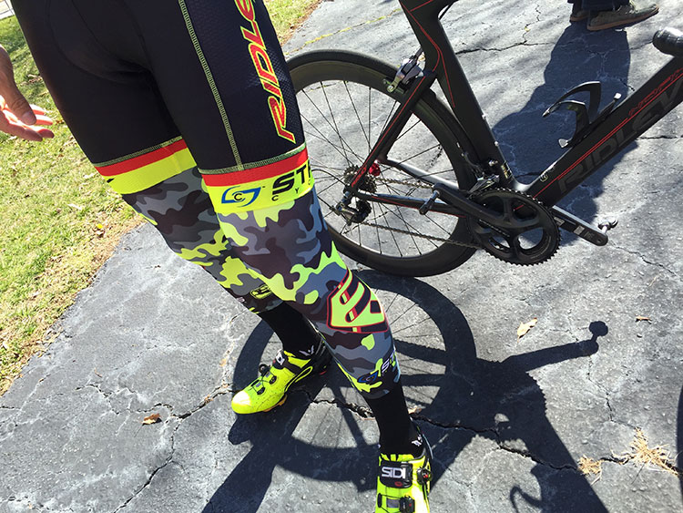 Really digging the Ridley team's fluo camo kit this year.
