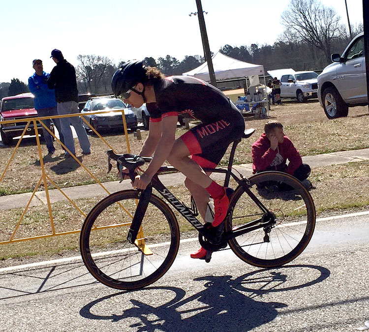 More: P/1/2 finishing the Merckx Time Trial.