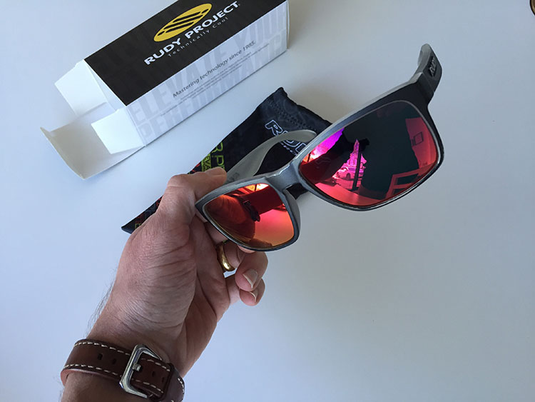 Casual sunnies - a present from my family for my Cat 3 upgrade.