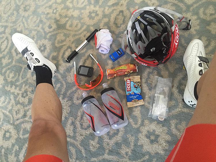 Post birthday ride - Tucker plus extra miles to make 100.