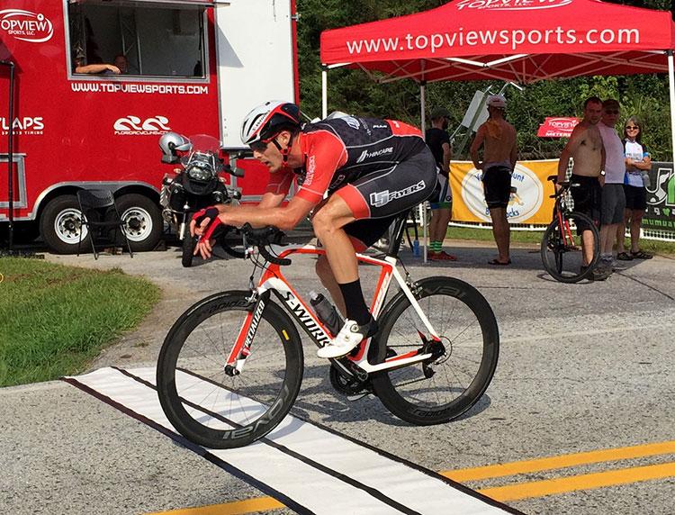 TT position on a road bike + one minute bonus = best of both worlds.