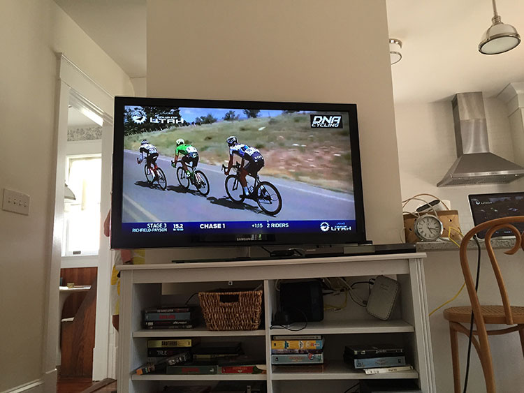 Love the Adobe Tour Tracker - been enjoying watching the USA teams battling it out for the Tour of Utah.