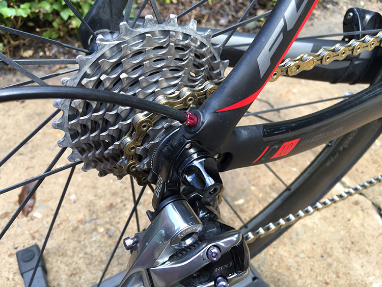 BLING. Love clean drivetrains.