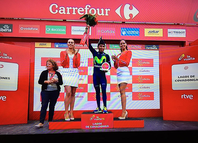 Nairo! What a great Tour of Spain it was.