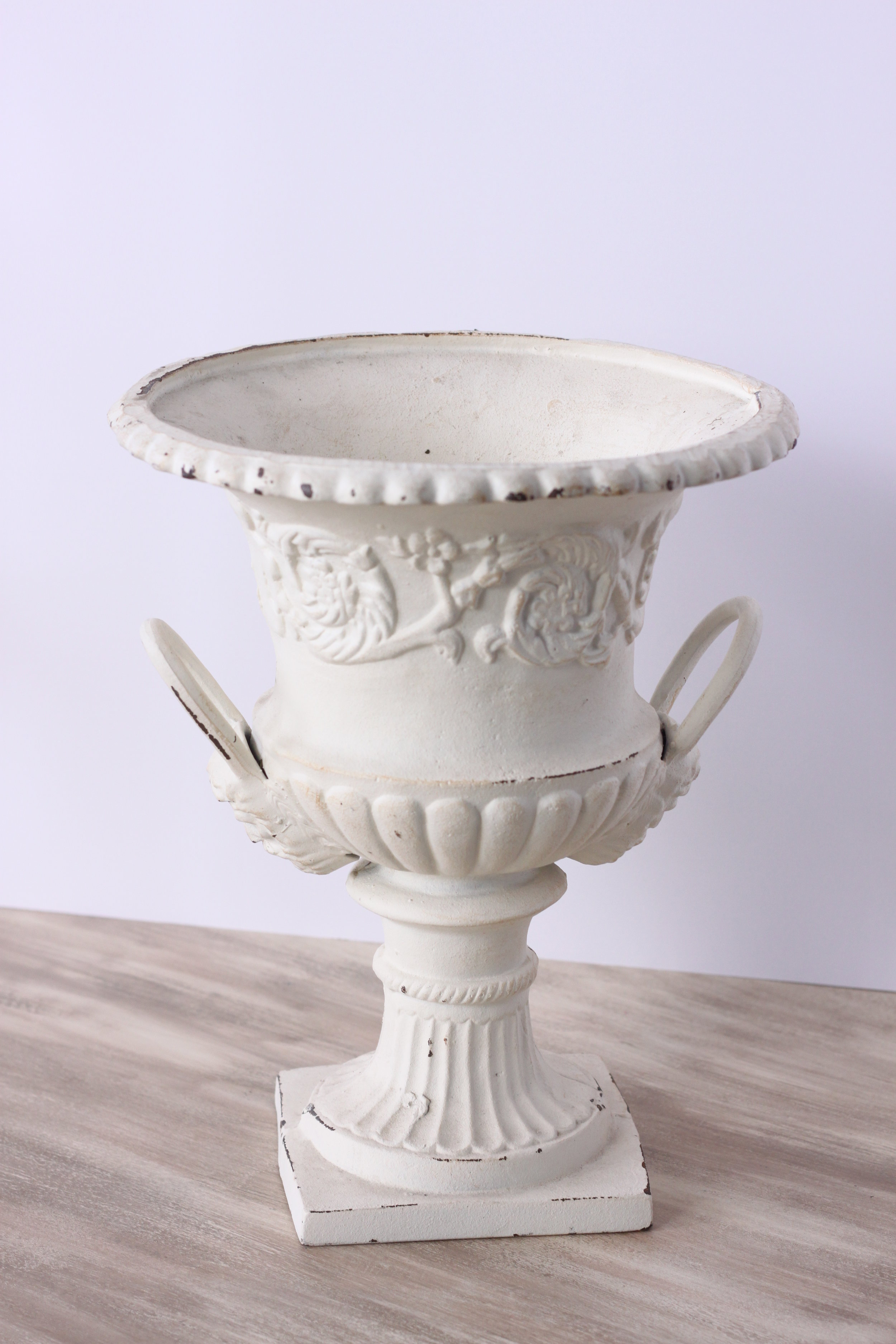 Copy of White Cast Iron Vessel $12/ea.