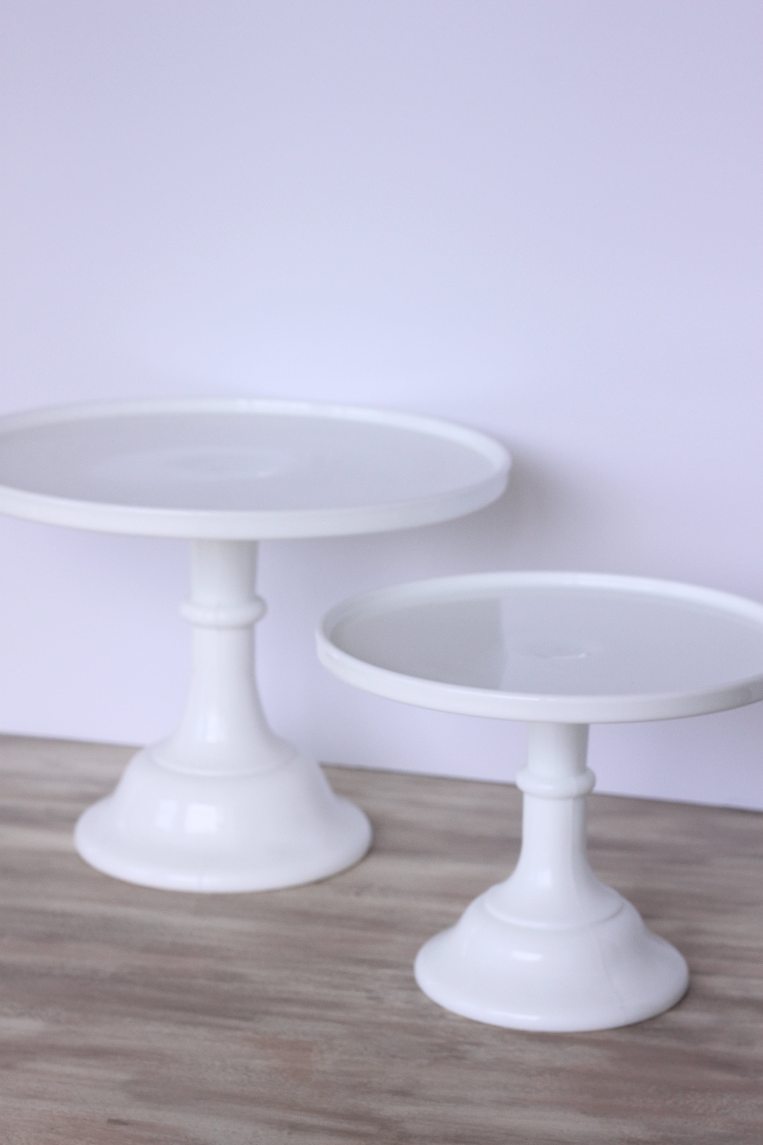 Copy of Meredith Cake Stand Sm. $6 Lrg. $8
