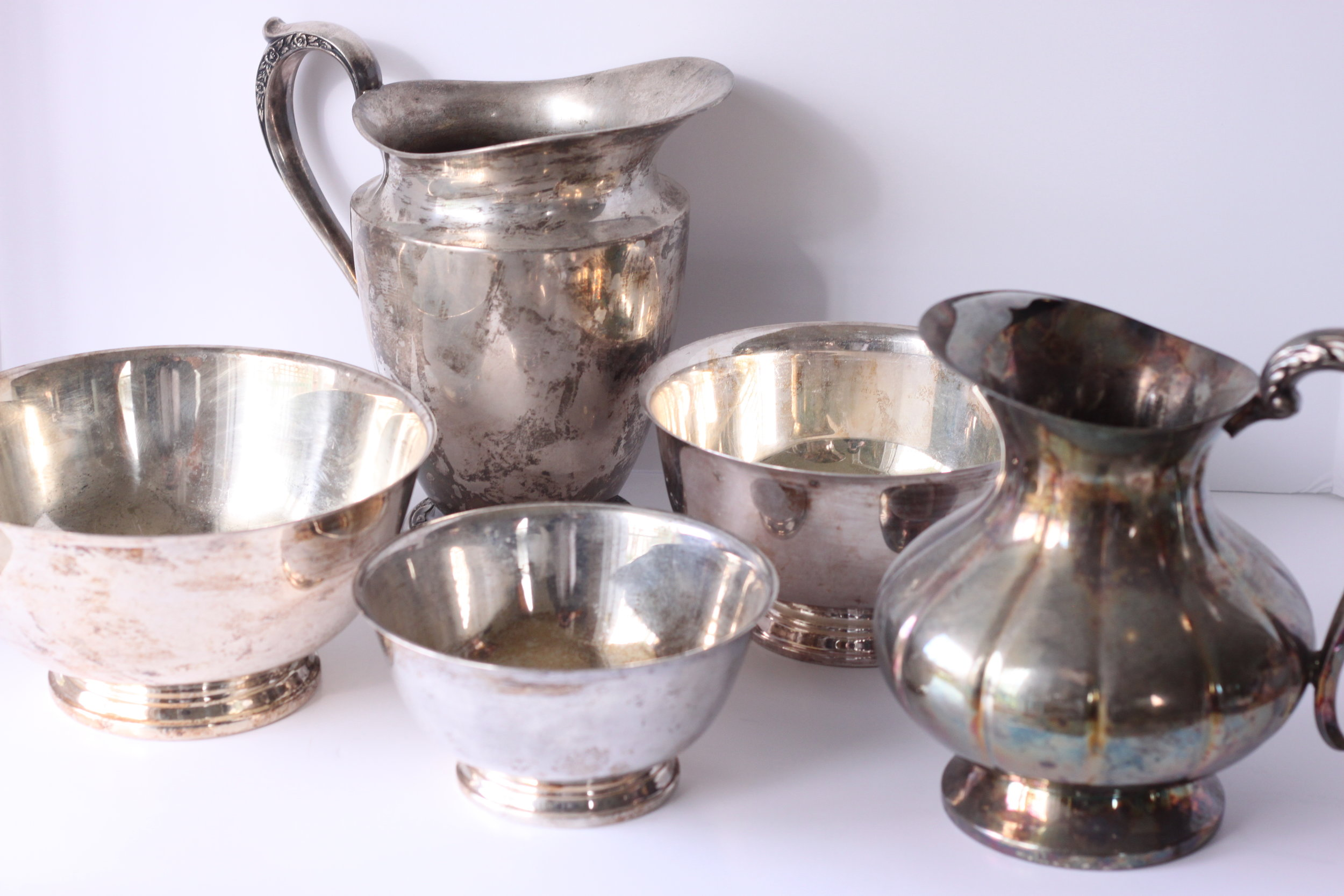 Copy of Silver Serving Pieces $6-$10/ea.