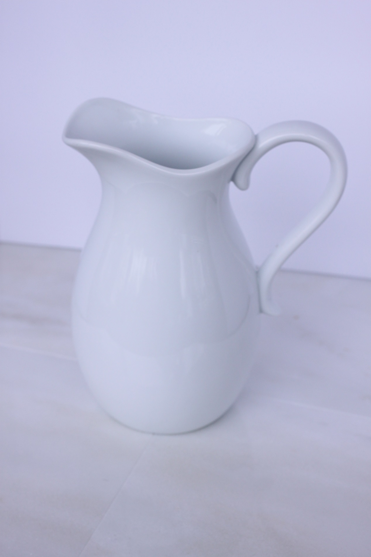 Copy of White Pitcher $5/ea.