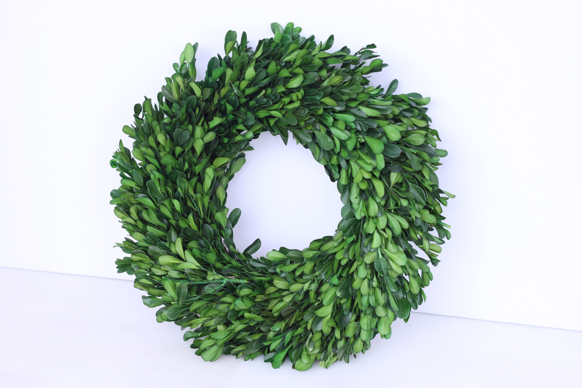 Copy of Boxwood Wreath Sm. $3/ea. Lrg. $6/ea.