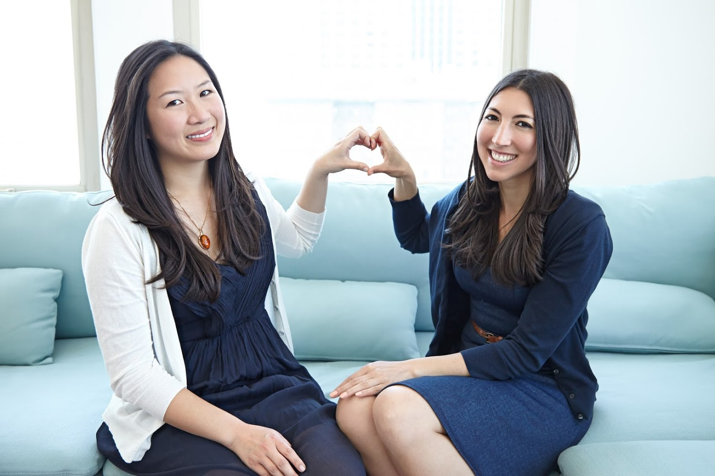 Binti co-founders, Julia Chou (left) and Felicia Curcuru (right)