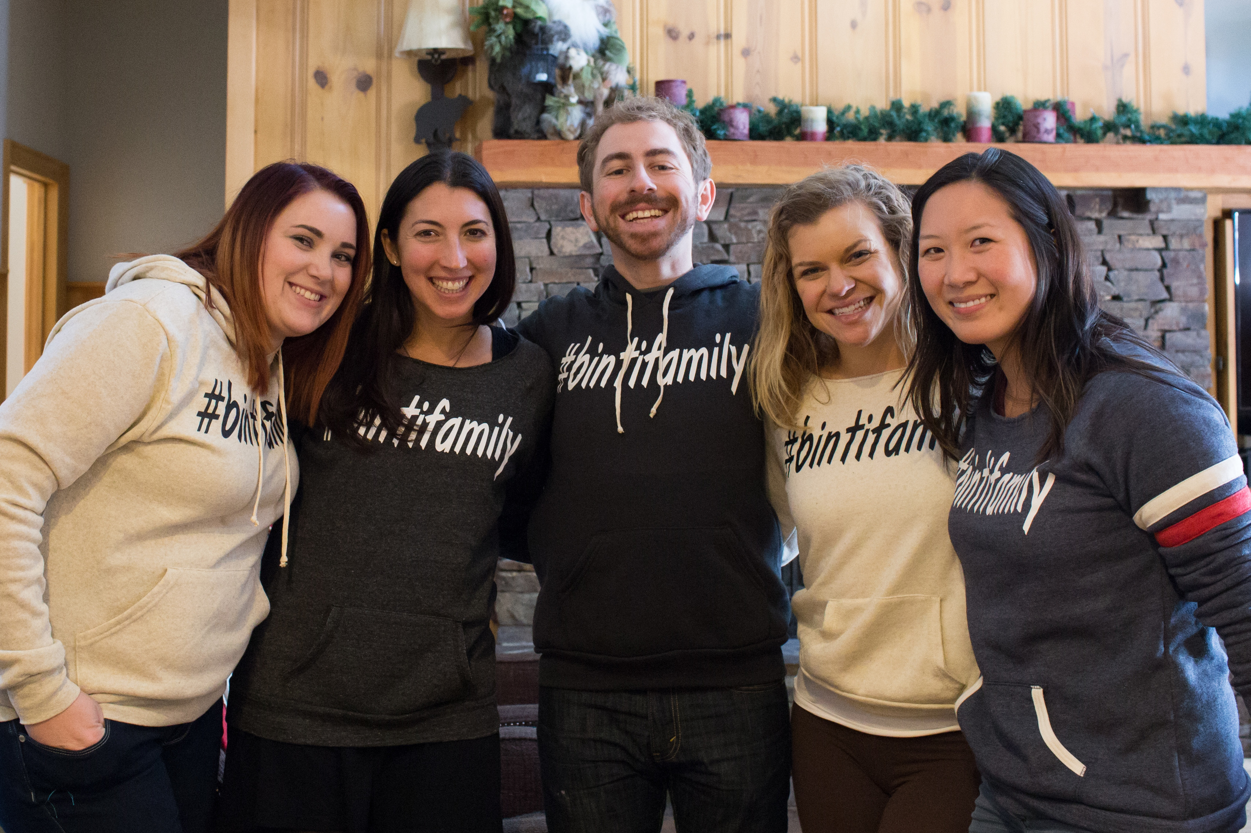 The #bintifamily at their Tahoe retreat