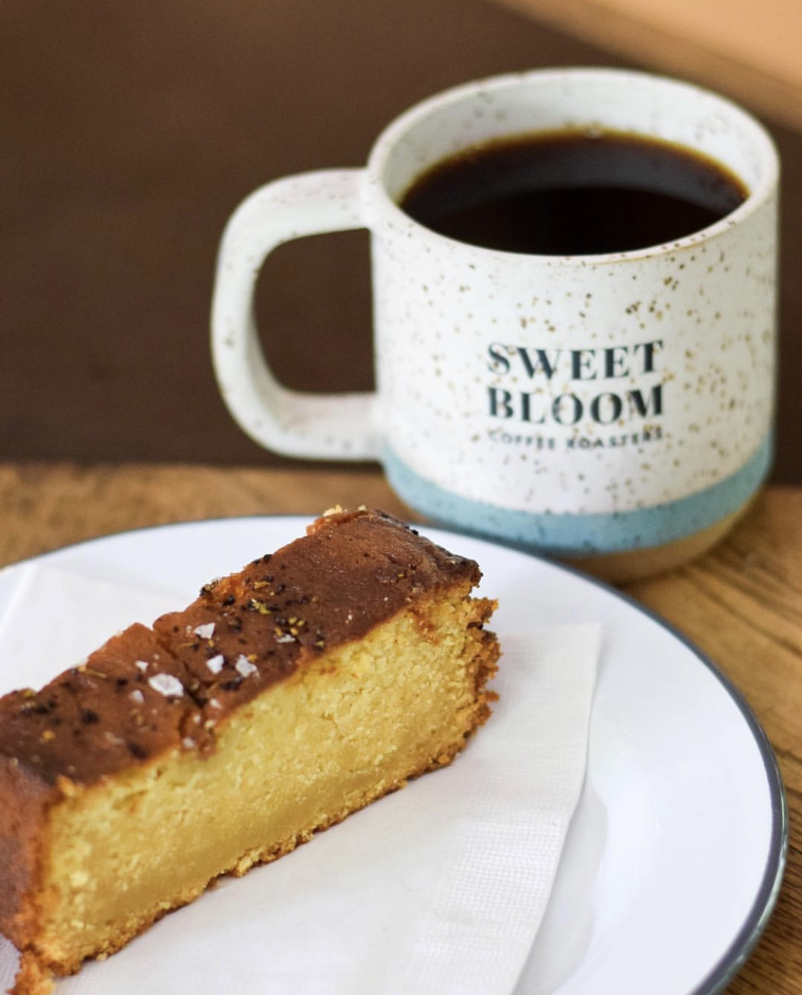 Coffee Blossom Honey Cake    We aren't exactly sure what all the ingredients are in this specialty cake by The London Plane, but we are sure it is delicious - maybe you can get them to divulge the recipe...   Recipe:  @londonplaneseattle   Photo:  @lamarzoccocafe   Coffee Pairing:  @sweetbloomcoffee