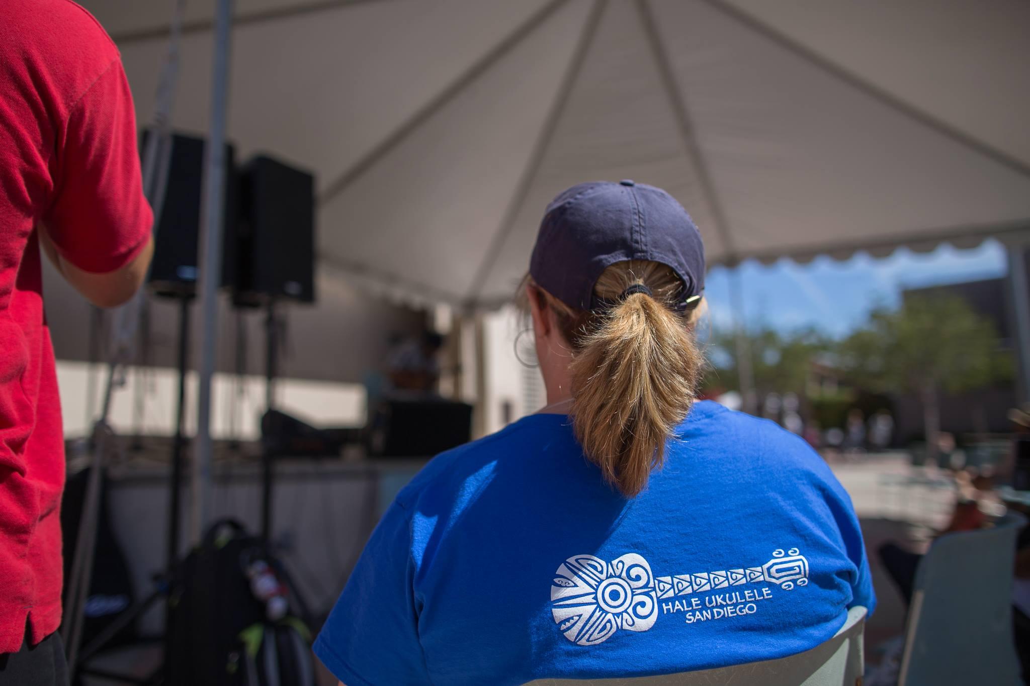 Hale 'Ukulele T-Shirts at the LA Uke Fest - Photo by Craig Chee