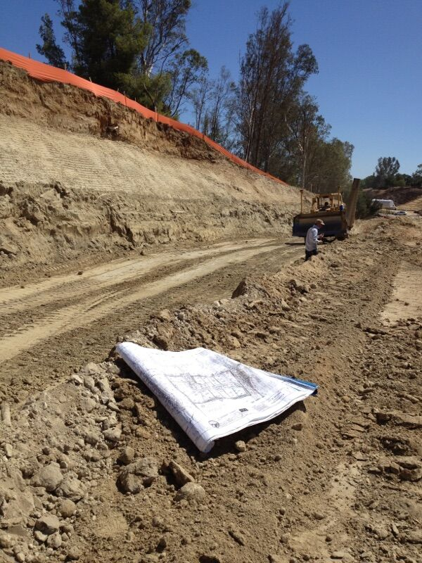 Rough Grading and Slope Stability