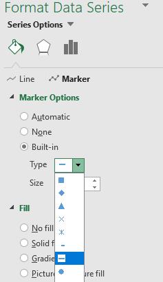 Figure 13: Format Data Series Marker
