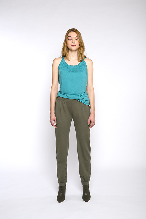 Justine-leconte-green-leisure-pants
