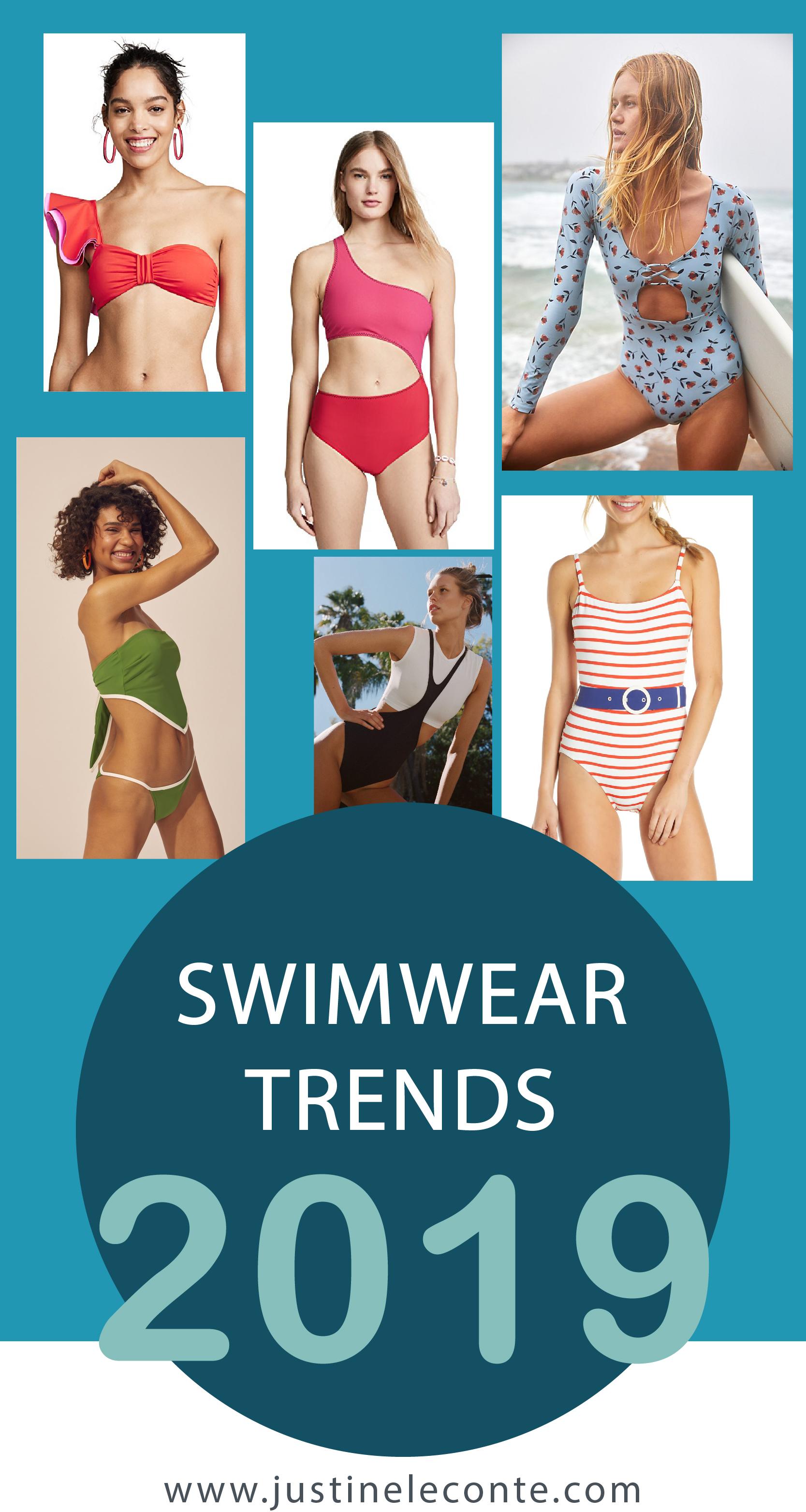 Swimwear trends 2019 - Justine Leconte