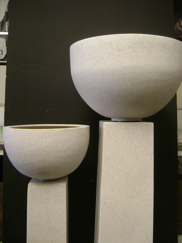 Granite urn