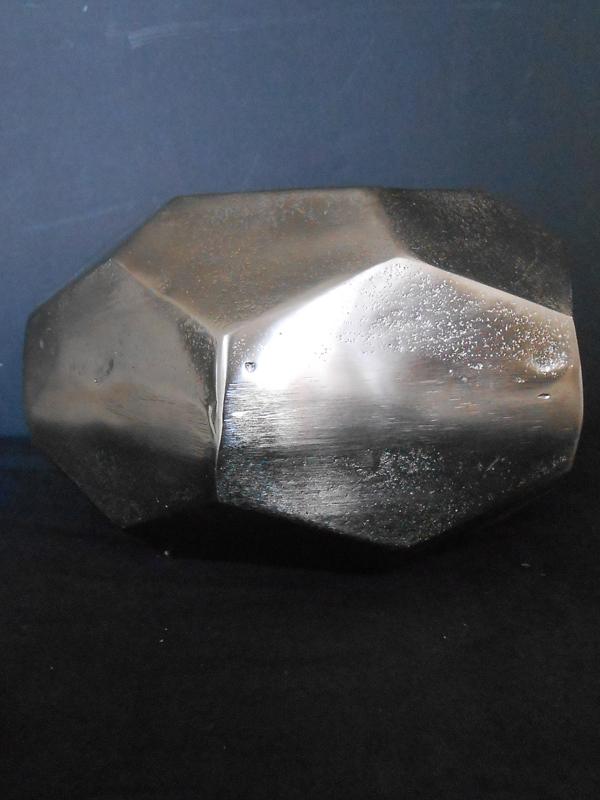Nickel hexagonal bowl