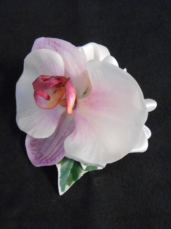 Pink phaleonopsis corsage