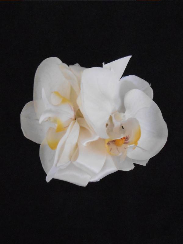 White phaleonopsis corsage