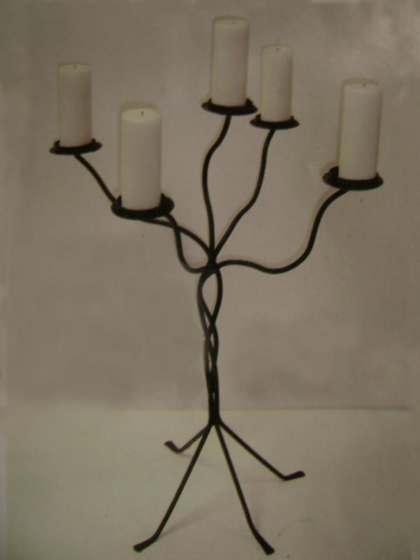 Iron candelabra