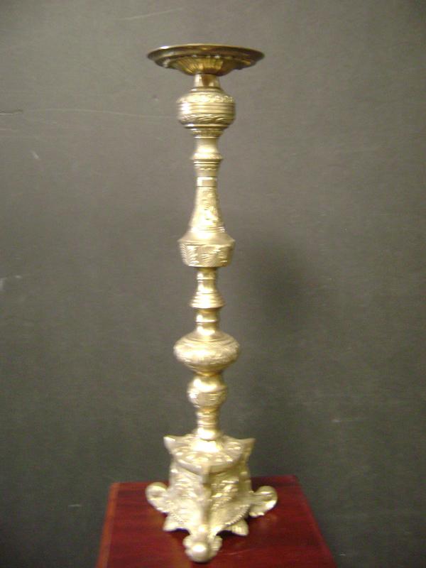 Brass candelstick