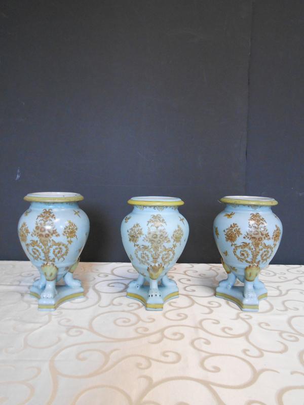 Aqua Asian Ceramic trio