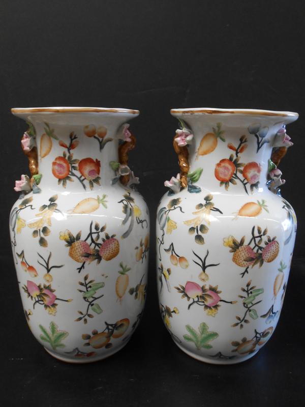 Asian Ceramic berry jar