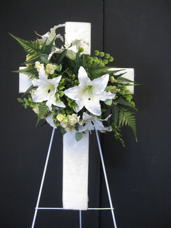 White lily cross
