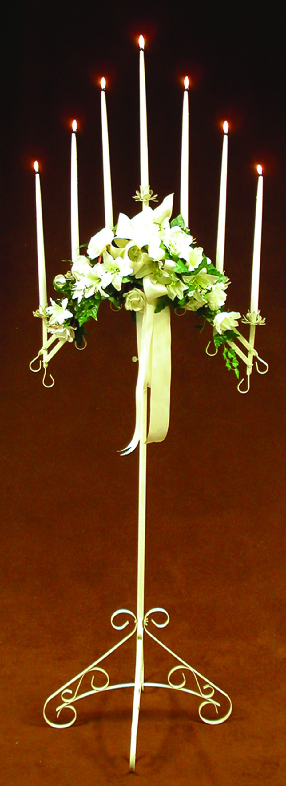 Branched candelabra
