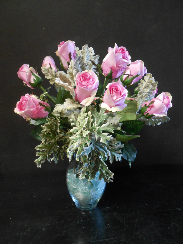 Lavender rose arrangement