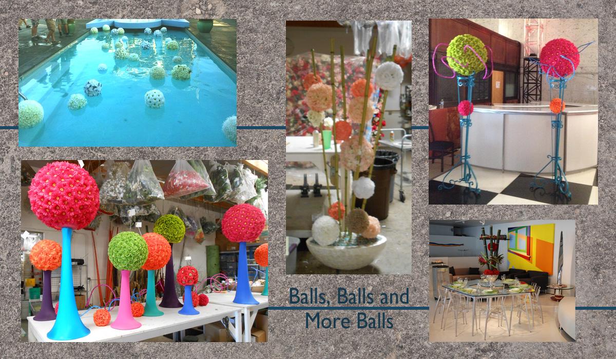 Balls, Balls and More Balls
