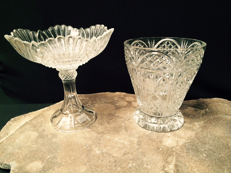Fancy Cut Crystal Containers