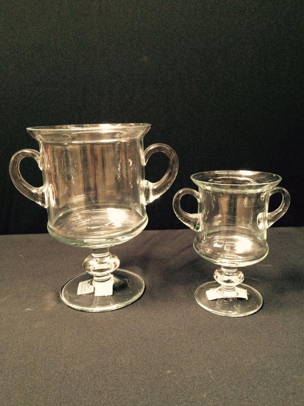 Crystal Trophy Vases
