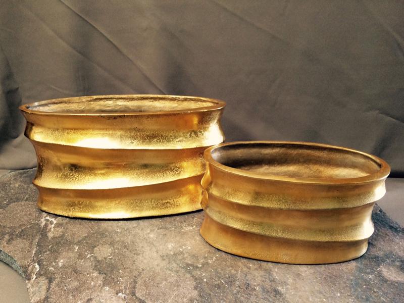 Gold Metal Bowls