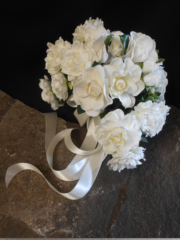 Garedenia bridal bouquet