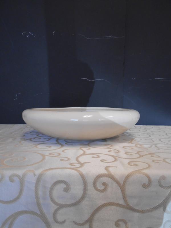 White ceramic dish
