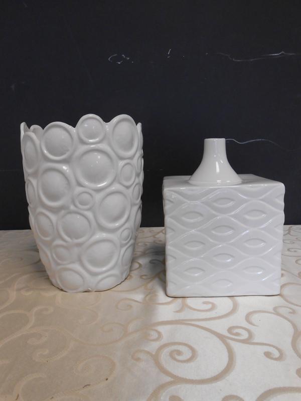 Modern white ceramic